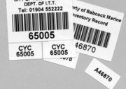 Etiquetas para control de activos